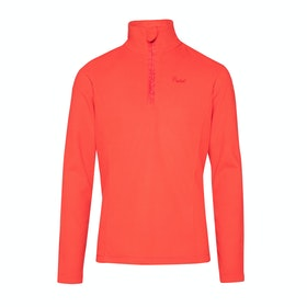 Protest Mutey Jr Quarter Zip Girls Fleece - Red Alert