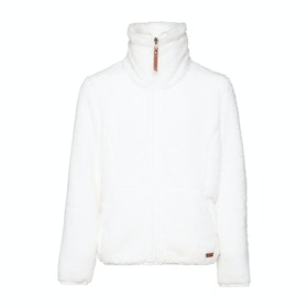 Protest Riri 19 Jr Full Zip Top Girls Fleece - Seashell