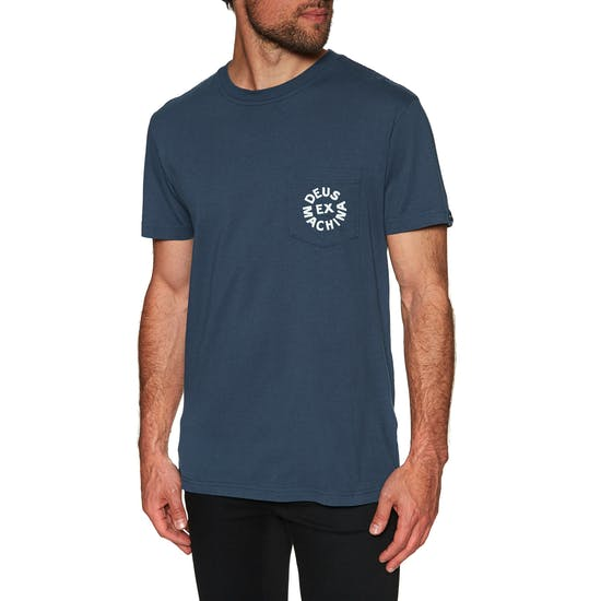Deus Ex Machina Deus Logo Short Sleeve T-Shirt
