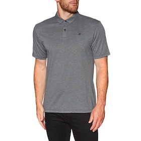 Chemise Polo Hurley Dri fit Coronado - Dk Char Heather