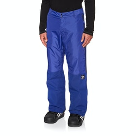 Adidas Snowboarding Riding Snow Pant - Active Blue Collegiate Gold