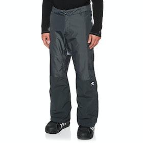 Pantalons pour Snowboard Adidas Snowboarding Riding - Carbon Cream White