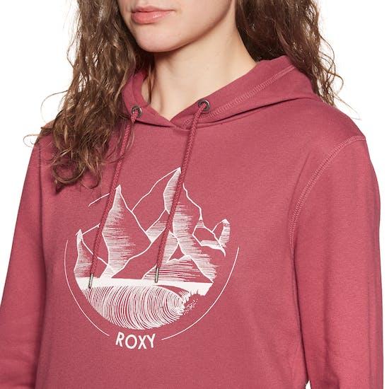 Roxy Somewhere New Ladies Pullover Hoody