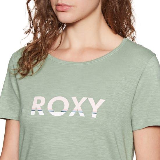 Roxy Red Sunset Corp Short Sleeve T-Shirt