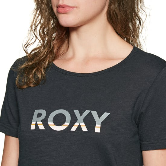 Roxy Red Sunset Corp Short Sleeve T-Shirt