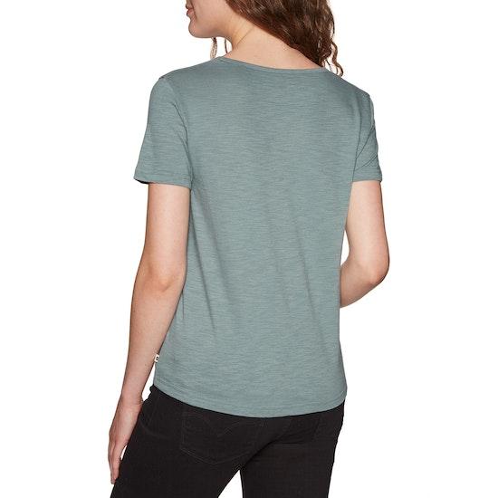 Roxy Red Sunset Short Sleeve T-Shirt