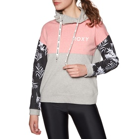 Pullover à Capuche Femme Roxy Smile Everyday - Heritage Heather