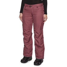 686 GLCR Geode Thremagraph Womens Snow Pant - Crushed Berry Heather