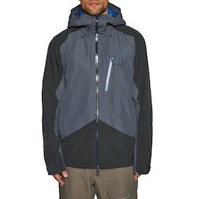 Giacca Snowboard Haglofs Niva - Dense Blue Slate