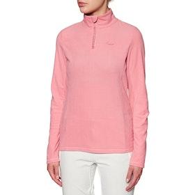 Protest Mutey Quarter Zip Womens Fleece - Think Pink