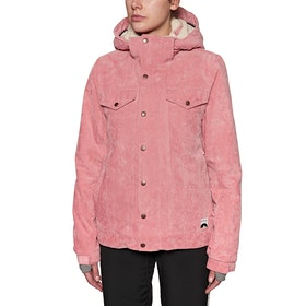 Protest Cutie Snow Jacket - Think Pink