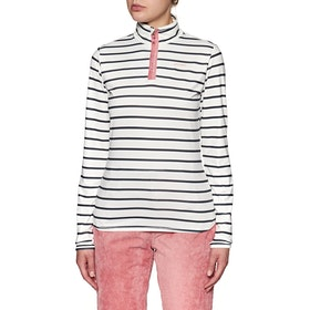Polaire Femme Protest Tipsy 1/4 Zip Top - Grunge
