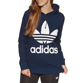 Pullover à Capuche Femme Adidas Originals Trefoil - Collegiate Navy