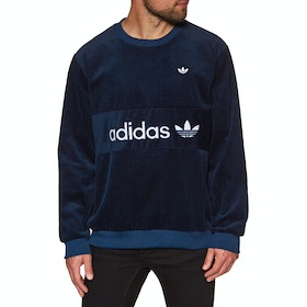 Sweat Adidas Originals Cord - Night Indigo