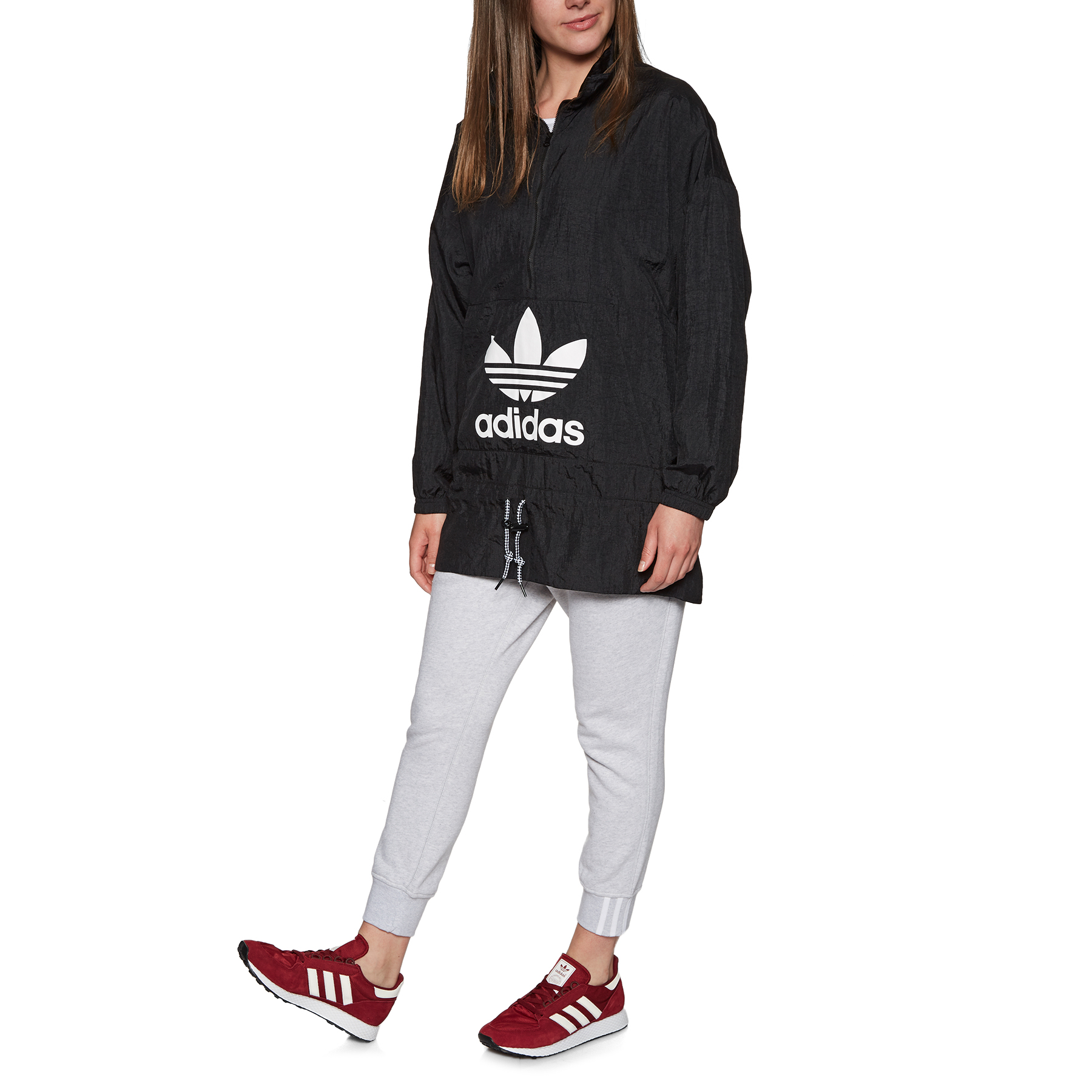 Adidas Womens JacketFree Originals Windbreaker Windproof rBodCxe