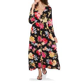 Billabong Desi Kimono Womens Dress - Black