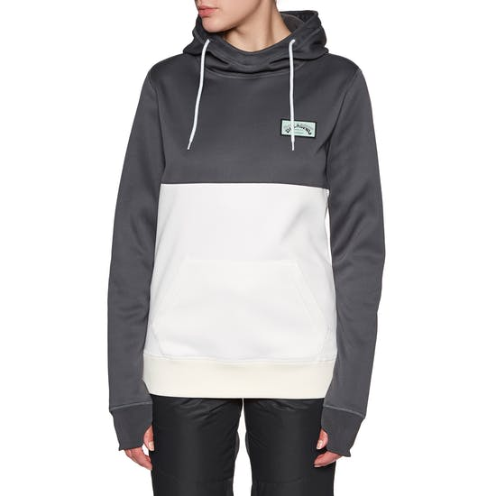 Billabong Outside Fever Block Ladies Pullover Hoody