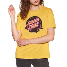 Santa Cruz Dot Reflection Short Sleeve T-Shirt - Bamboo