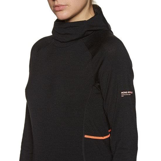 Mons Royale Olympus 3.0 Hood Womens Base Layer Top
