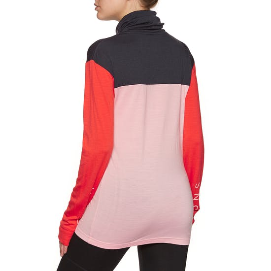 Mons Royale Yotei Bf High Neck Womens Base Layer Top