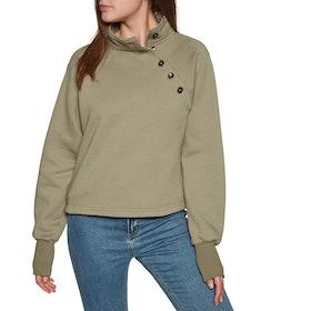 Rhythm Colorado Pullover Womens Sweater - Sage