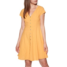 Rhythm Oasis Dress - Mustard
