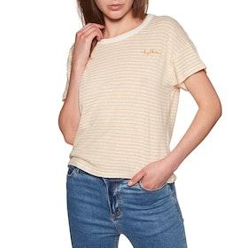 Rhythm Oasis Short Sleeve T-Shirt - Mustard