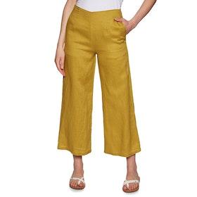 Rhythm Positano Pant Womens Trousers - Turmeric