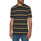 Hurley Dri-fit Harvey Stripe Short Sleeve T-Shirt