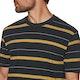 Hurley Dri-fit Harvey Stripe Short Sleeve T-Shirt