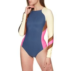 Hurley Quick Dry Maritime Surf Swimsuit - Mystic Navy