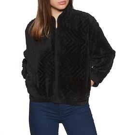 Polaire Hurley Sherpa Zip - Black