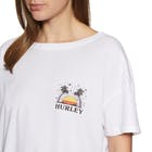 Hurley Sun Stripes Flouncy Short Sleeve T-Shirt