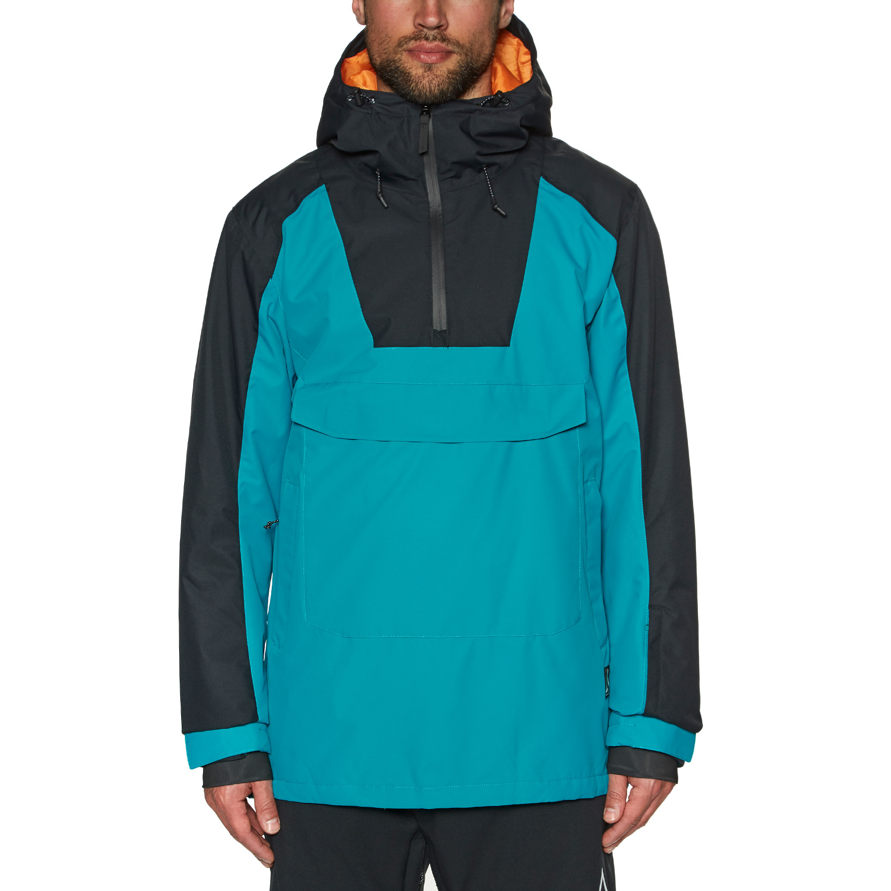 adidas Civilian Snow Jacket CarbonActive BlueCream White