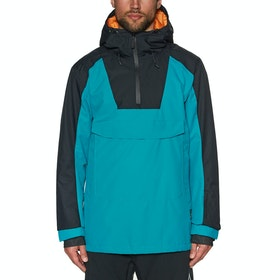 Wear Colour Anorak Snow Jacket - Enamel Blue