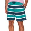Diamond Supply Co Mini Og Script Striped Shorts - Teal