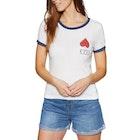 RVCA Foliage Ladies Short Sleeve T-Shirt