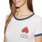 RVCA Foliage Ladies Short Sleeve T-Shirt