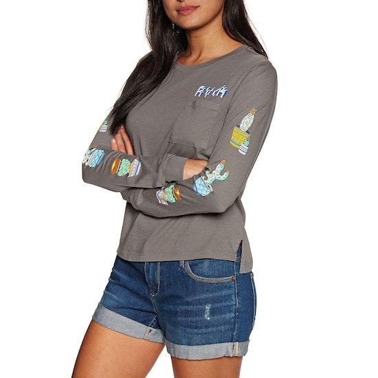 RVCA Cacti Womens Long Sleeve T-Shirt