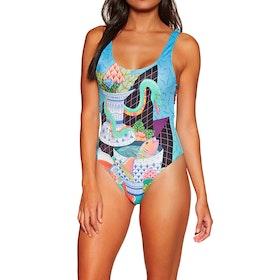 RVCA Kristen One Piece Me Womens Swimsuit - Multi