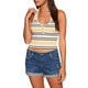 RVCA On The Fence Halter Womens Tank Vest