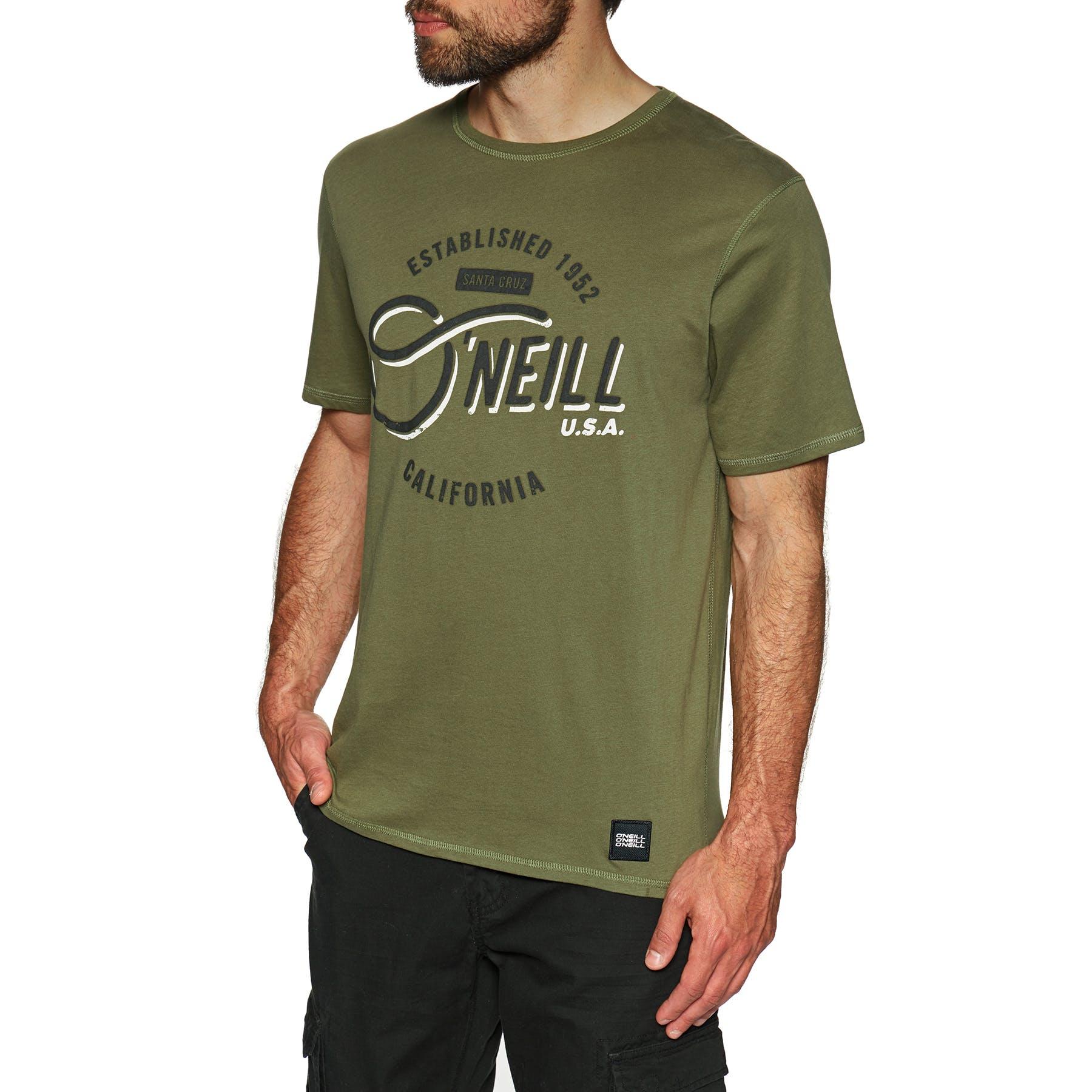 O/'neill Lm Essentials T-shirt Short Sleeve Salina Green All Sizes