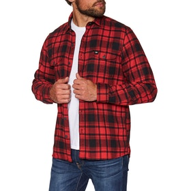 O'Neill Violator Flannel Shirt - Red Aop