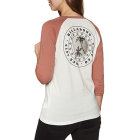 Billabong Eye Sea Sky Womens Long Sleeve T-Shirt - Cacao