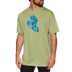 Santa Cruz Screaming Hand Short Sleeve T-Shirt - Sage