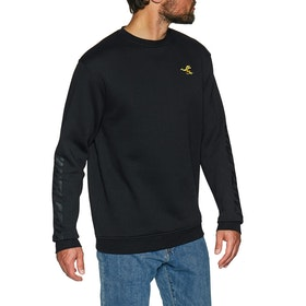 Sudadera Santa Cruz Pusher Crew - Black