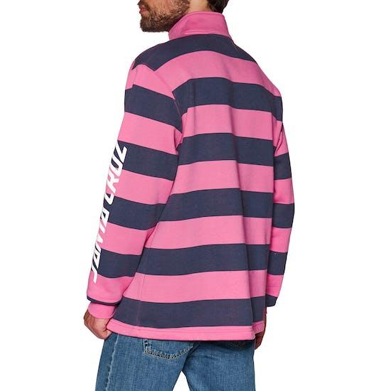 Santa Cruz Run Up Quarter Zip Crew Sweater