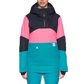 Wear Colour Homage Anorak Womens Snow Jacket - Enamel Blue