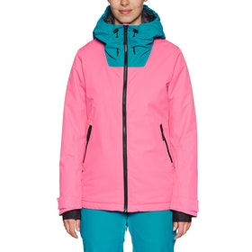 Blouson pour Snowboard Femme Wear Colour Cake - Post-it Pink
