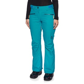 Wear Colour Cork Womens Snow Pant - Enamel Blue